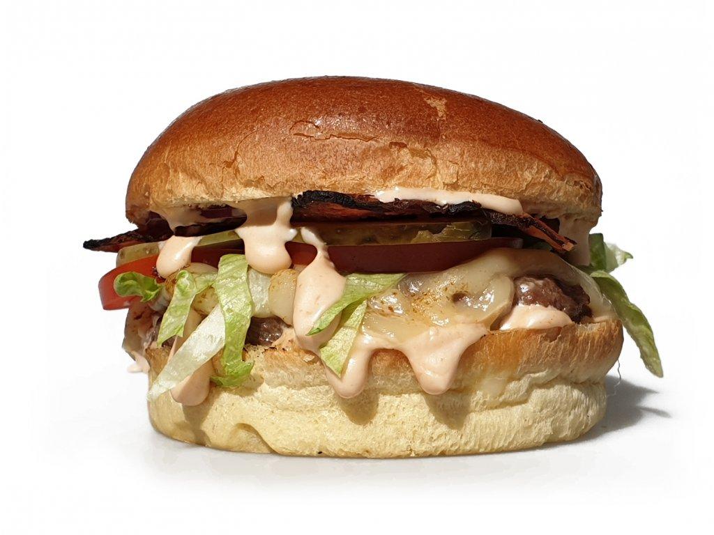 hovezi burger white